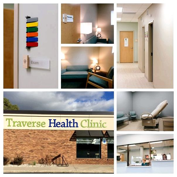 A History from the Traverse Health Clinic it expanded over decades as