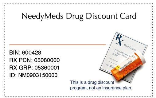 Needymeds drug discount card save cash