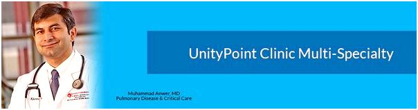 Unitypoint clinic specialties This exam is